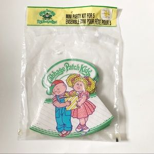 Vintage Cabbage Patch Kids Party Hats